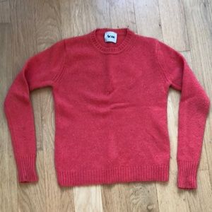 Acne 100% wool clementine sweater